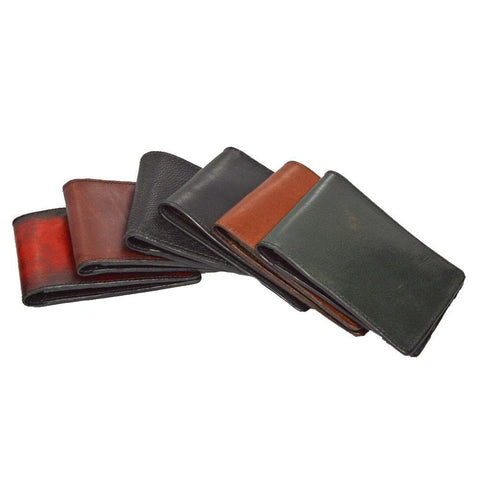 Bifold Wallet with Extra Pockets - Color array