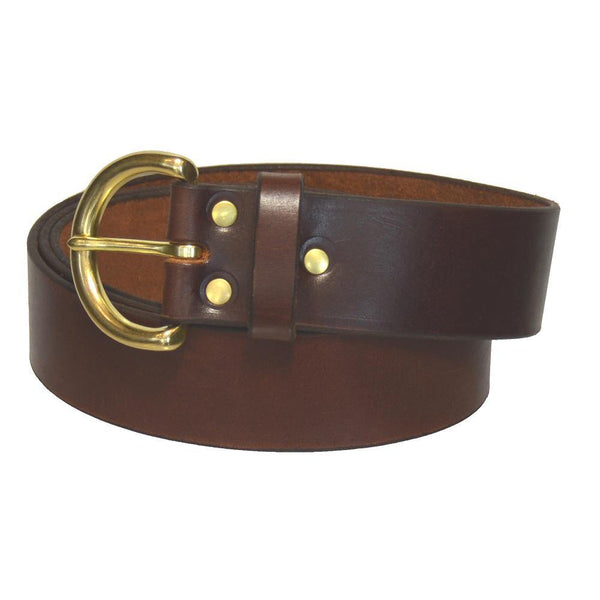 Fashion Belt - Rich Brown