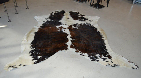 Black, Brown and white cowhide #15