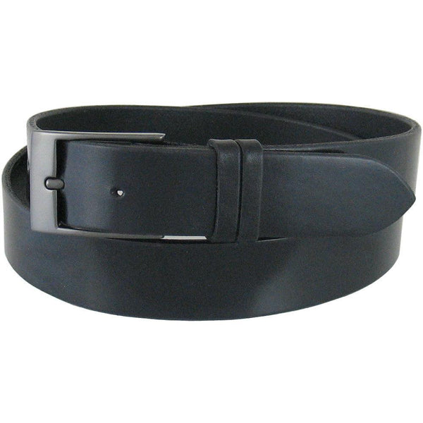 #D10 Dress Belt in Ebony