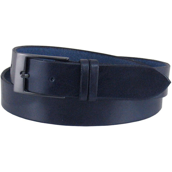#D10 Dress Belt in Navy