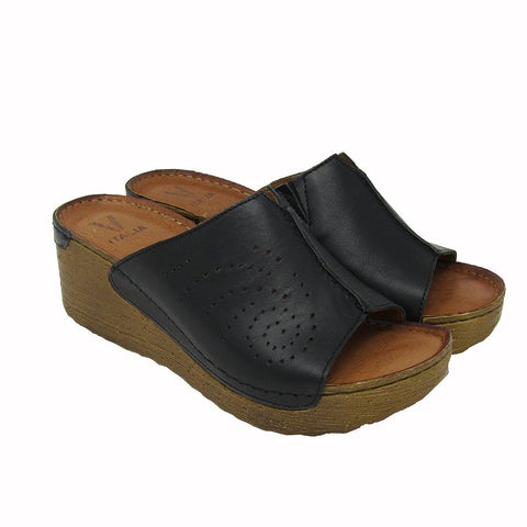 Katia Slide in Black