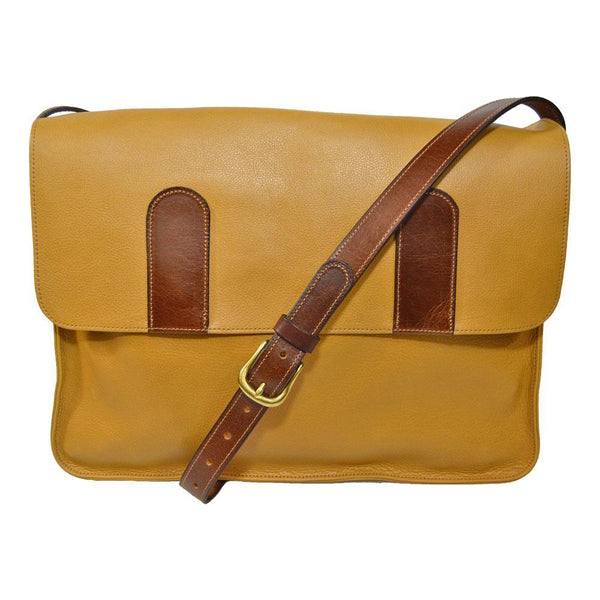 Large Satchel - Golden Tan