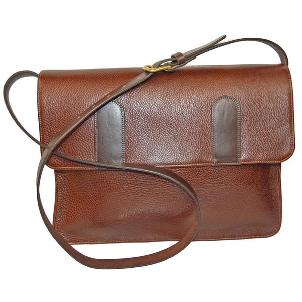 Large Satchel - Textured Brown