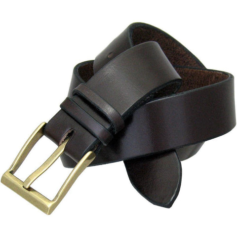 Italian Dress Belt in Espresso