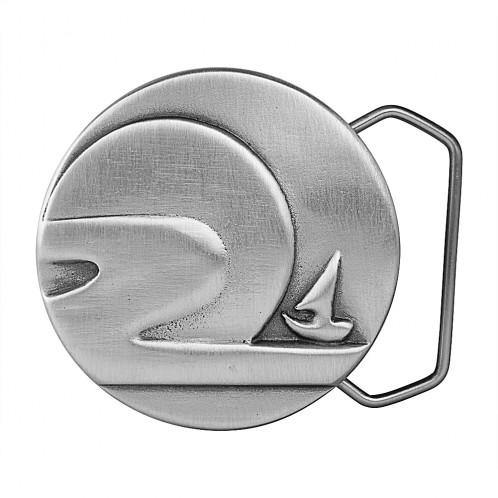 Nipponese Sailboat Belt Buckle