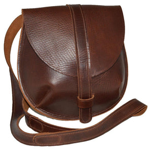 Sarah Cross-body/Shoulder Bag Reddish Brown