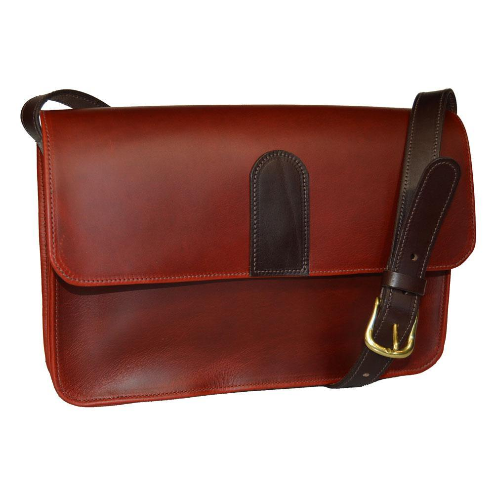 Small Satchel - Dark Cherry Leather