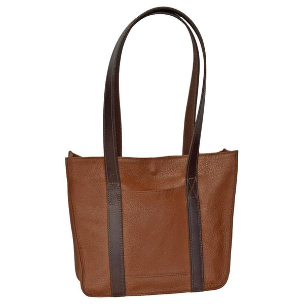 Small Strap Tote - Brown