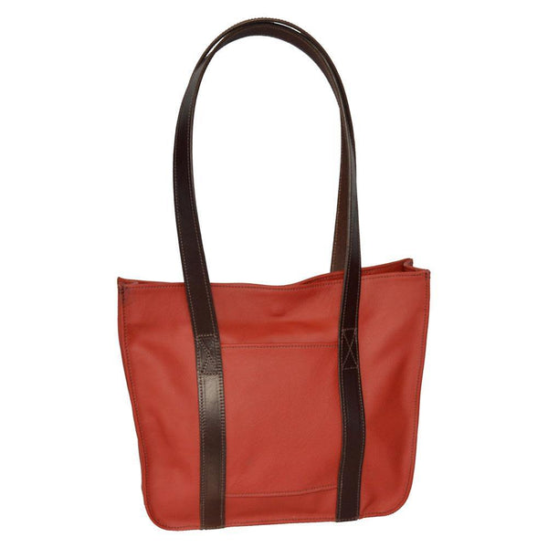 Small Strap Tote - Light Red