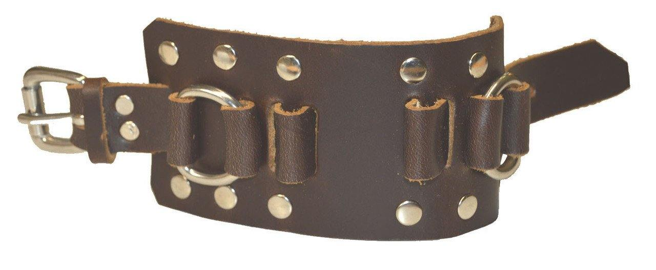 Studded Watchband ST300 Brown