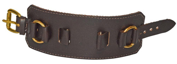 "Leather Watchband 1 1/2"" Wide"