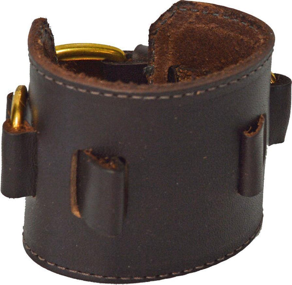 D-Ring Watchband - Brown w/Brass Hardware