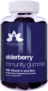 Elderberry Immunity Gummies for Kids & Adults