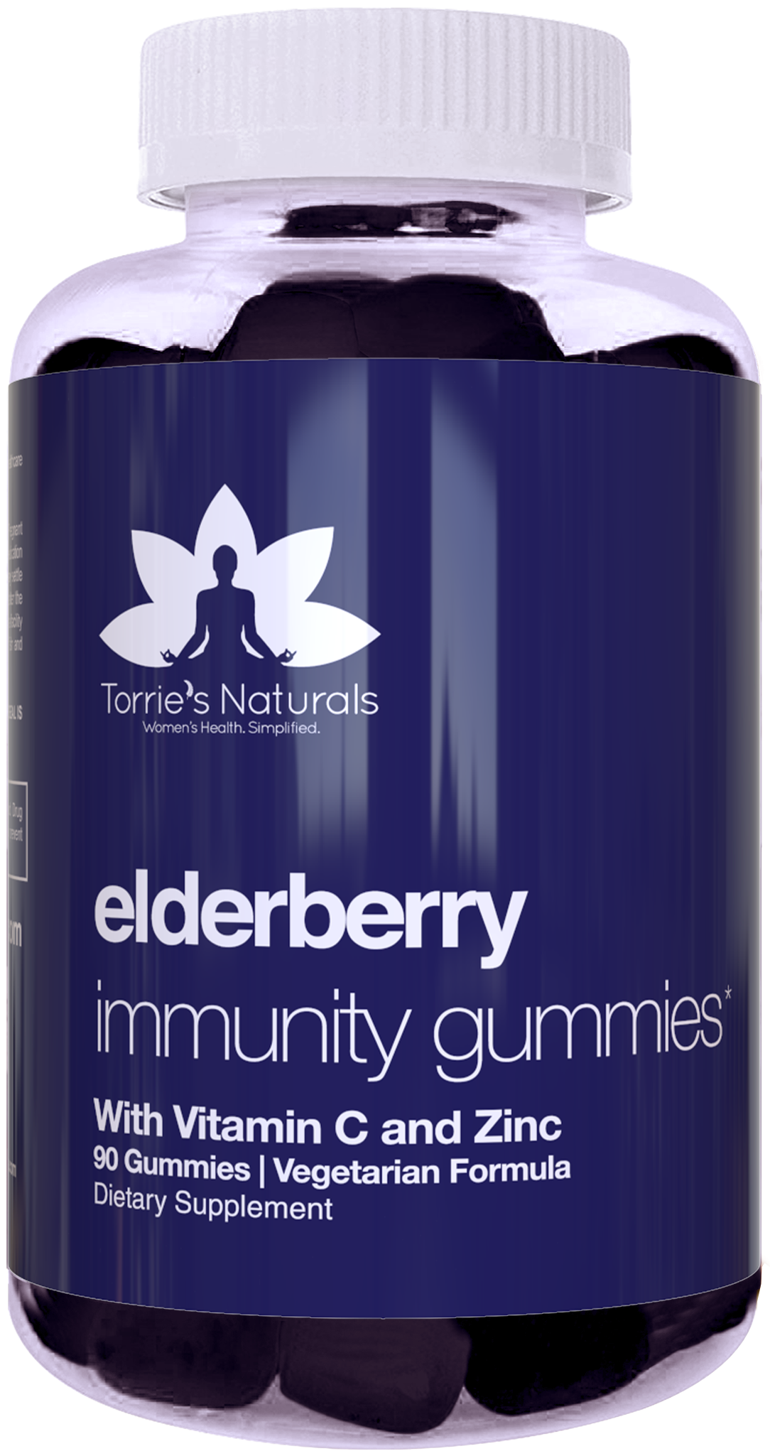 Elderberry Gummies, Immunity Support* for Kids & Adults, Sambucus Supplement with Zinc, Vitamin C - Vegetarian Formula