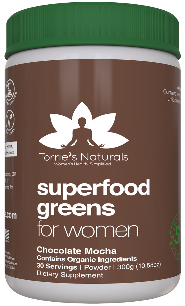 Women's Superfood Greens - Mocha Chocolate
