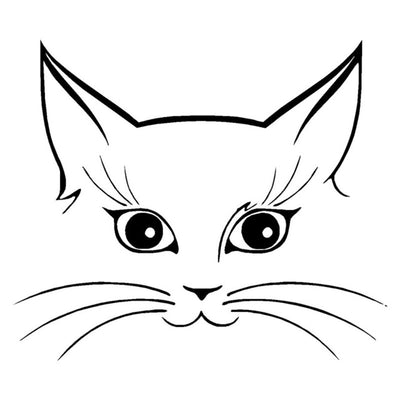 Really cute kitty cat sticker kitty cats alley