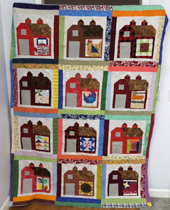 Red Barn Wedding Quilt