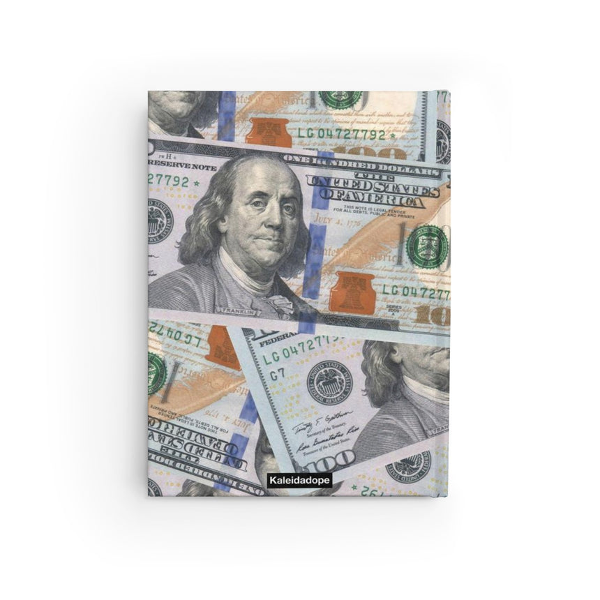 All About The Benjamins Notebook - Kaleidadope