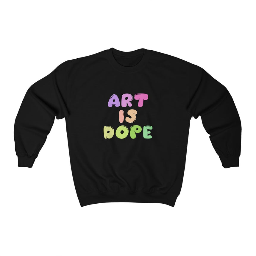Art Is Dope Crewneck - Kaleidadope