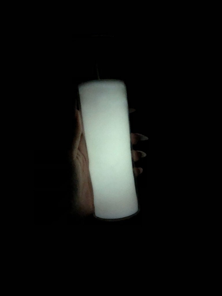 Vision & Intuition Candle (Glow in the Dark; White)