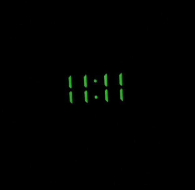 11:11 Pin (Glow in the Dark)