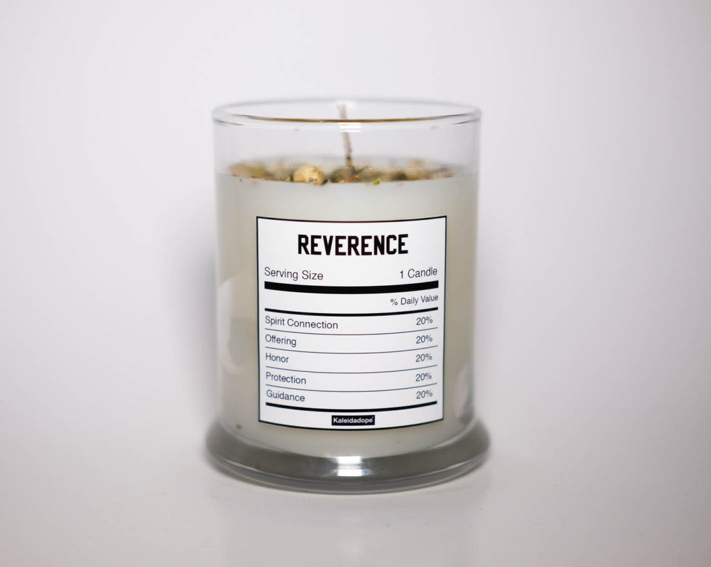 Reverence Candle (White)