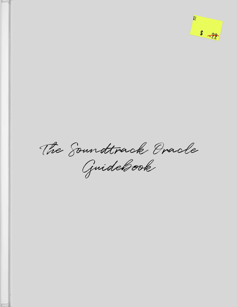 The Soundtrack Oracle Guidebook