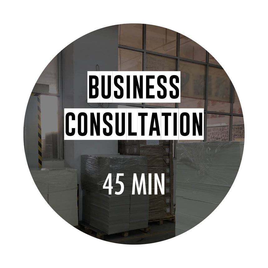 Business Consultation (45 min) - Kaleidadope