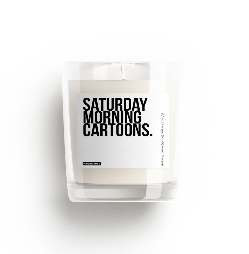 Saturday Morning Cartoons Candle