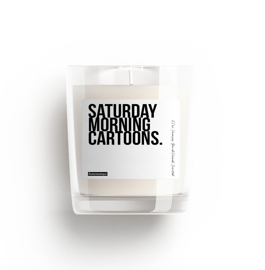 Saturday Morning Cartoons Candle - Kaleidadope