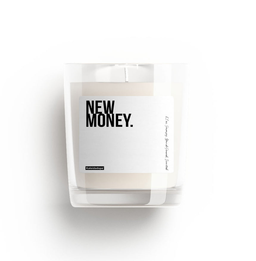 New Money Candle - Kaleidadope