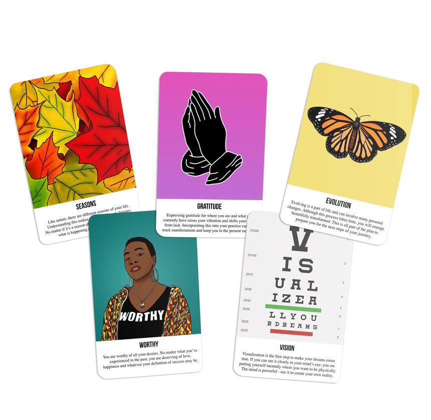 Real Talk Affirmations Expansion Pack for Vol. 1 (9 Cards) - Kaleidadope