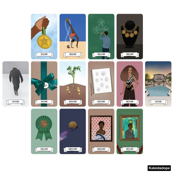 Kaleidadope Tarot: A Dope Deck (RESTOCKING IN OCTOBER) - Kaleidadope