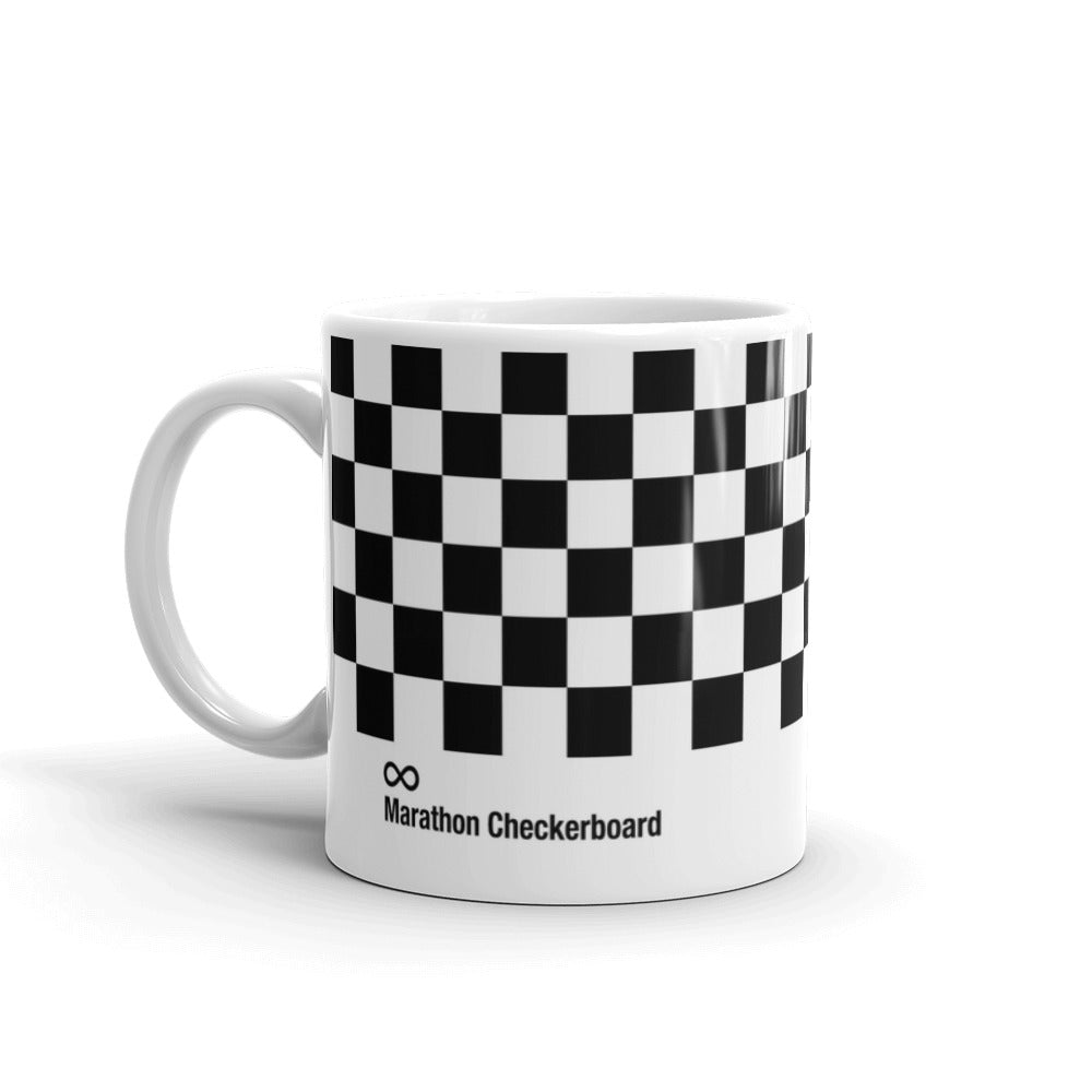 Marathon Checkerboard Swatch Mug