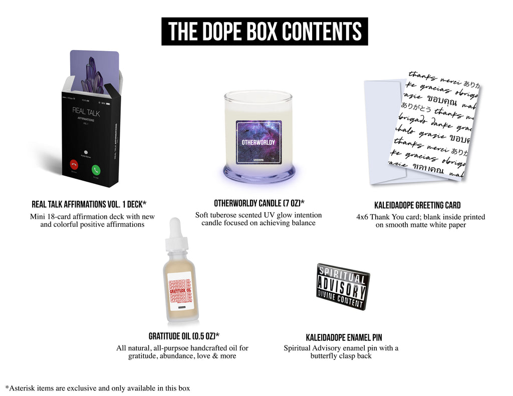 The Dope Box (2nd Qtr)