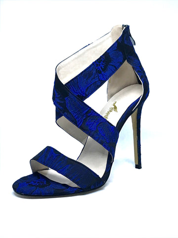 Royal Blue Strappy Sandal