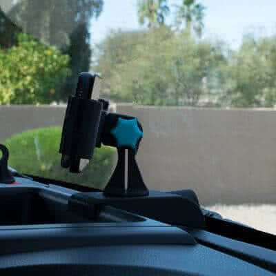 GPS, Superchips Traildash, Phone, Accessory Mount for Jeep JK 2011-2017