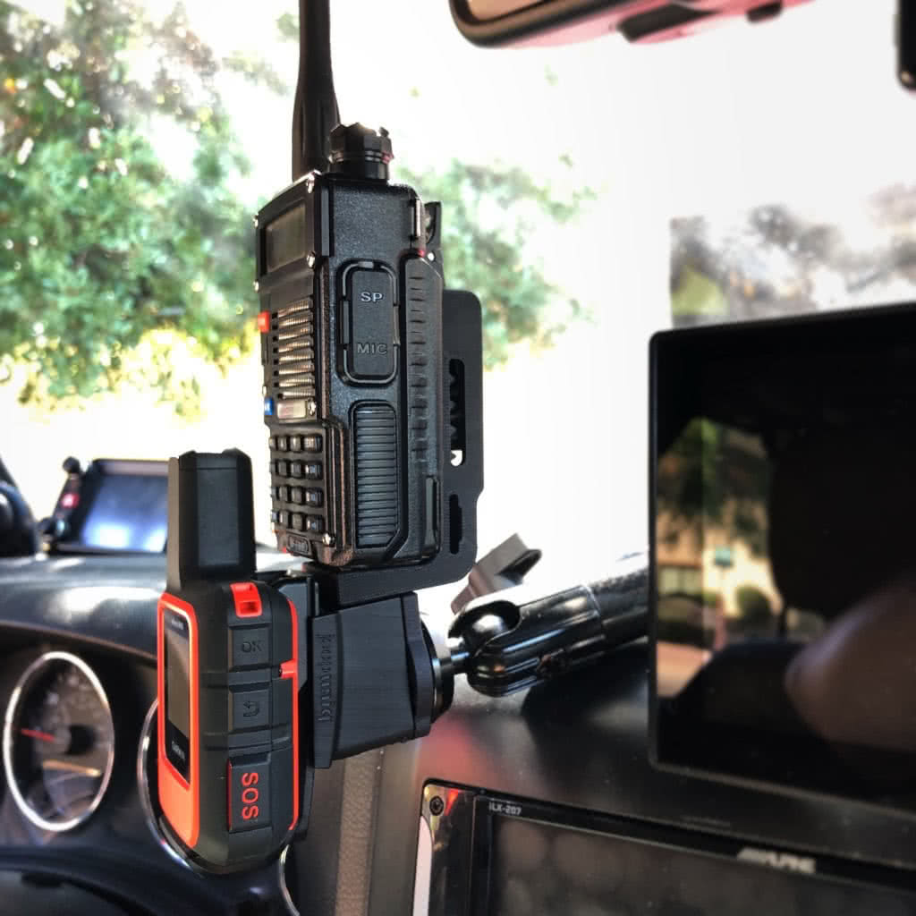 Jeep CB, HAM Mic, Radio Holder Mounts and Accessories