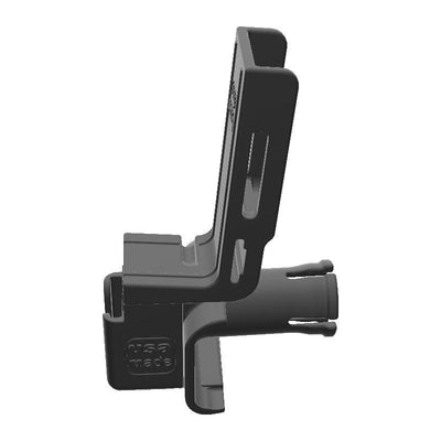 Cobra 18 WX CB Mic + Yaesu FT-60R Radio Holder for Jeep JK 07-10 Grab Bar - Image 2
