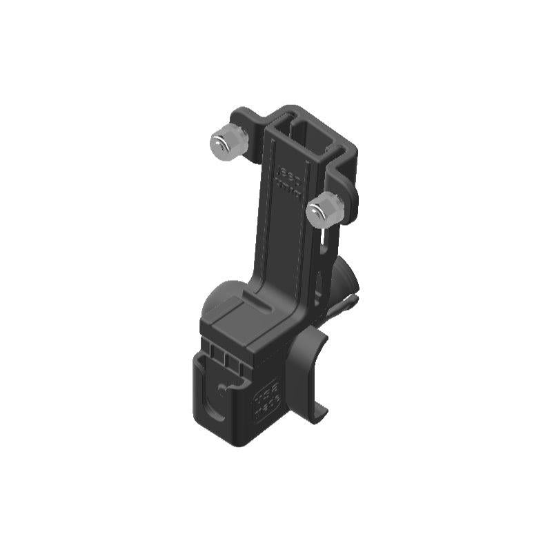 Uniden PRO520 CB Mic + Delorme inReach Device Holder for Jeep JK 07-10 Grab Bar - Image 1