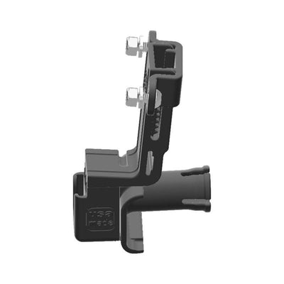 Cobra 18 WX CB Mic + Delorme inReach Device Holder for Jeep JK 07-10 Grab Bar - Image 2