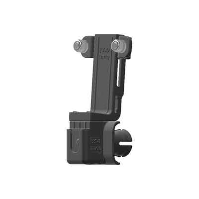 Cobra 18 WX CB Mic + Delorme inReach Device Holder for Jeep JK 07-10 Grab Bar - Image 3