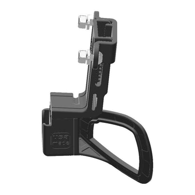Uniden BEARCAT 980 CB Mic + Delorme inReach Device Holder for Jeep JK 11-18 Grab Bar - Image 2