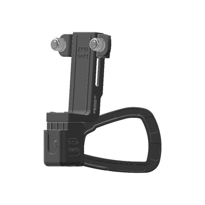 Uniden BEARCAT 980 CB Mic + Delorme inReach Device Holder for Jeep JK 11-18 Grab Bar - Image 3