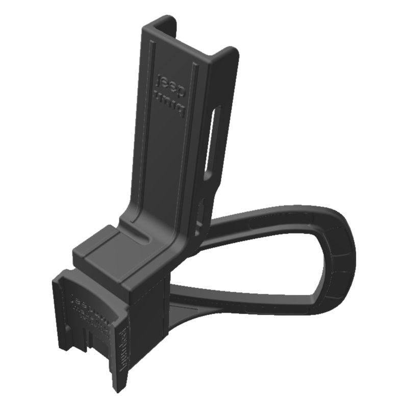 Garmin InReach Mini SATCOM SATCOM + Wouxun KG-UV6D Radio Holder for Jeep JK 11-18 Grab Bar - Image 1