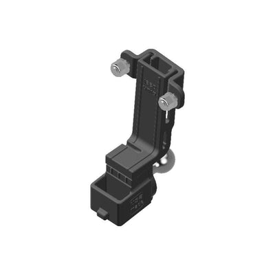 Baofeng BF-S112 HAM Mic + Delorme inReach Device Holder with 20mm 67 Designs Ball - Image 1