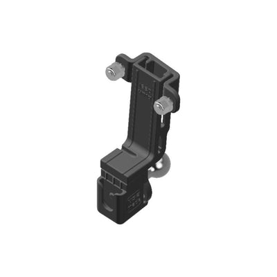 Yaesu FTM-350AR HAM Mic + Delorme inReach Device Holder with 20mm 67 Designs Ball - Image 1