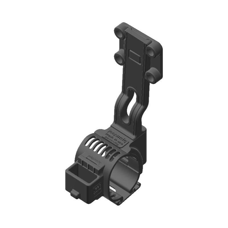 Wouxun SMO-001 HAM Mic + Garmin InReach Explorer SATCOM Holder Clip-on for Jeep JL Grab Bar - Image 1