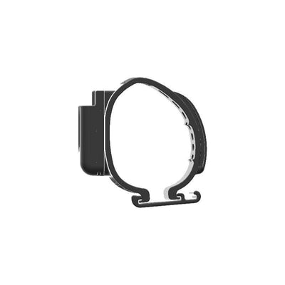 Cobra 75 WX CB Mic Holder Clip-on for Jeep JL Grab Bar - Image 2